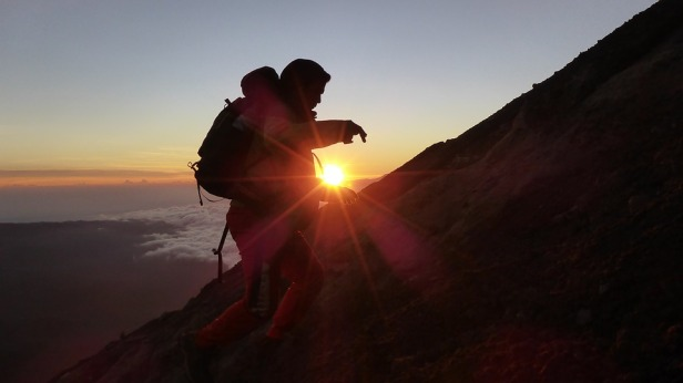 Mountain Indonesia Travel Travelling Tracking